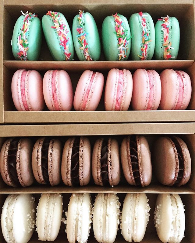Never tire of boxing macarons up for cus