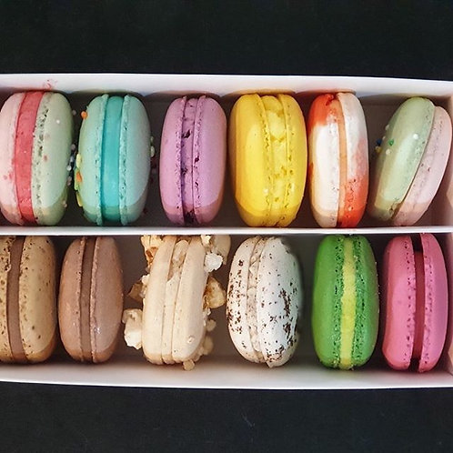 Macarons Assorted Box of Ten