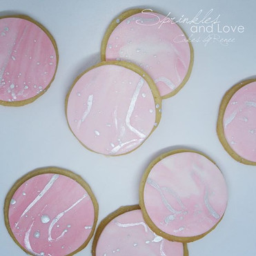 Custom cookies for a little one's first