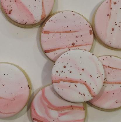 Vanilla bean cookies to match the macaro