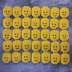 LEGO HEAD SUGAR COOKIES _There's always