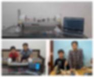 India - 4 June - boys create ventilator.