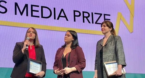 prize winners speak - IMG_1605 credit jo