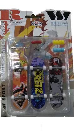 Набор Fingerskate (три скейта)
