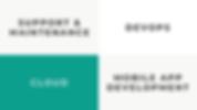 Services: Support & Maintenance, Devops, Cloud, Mobile App Development