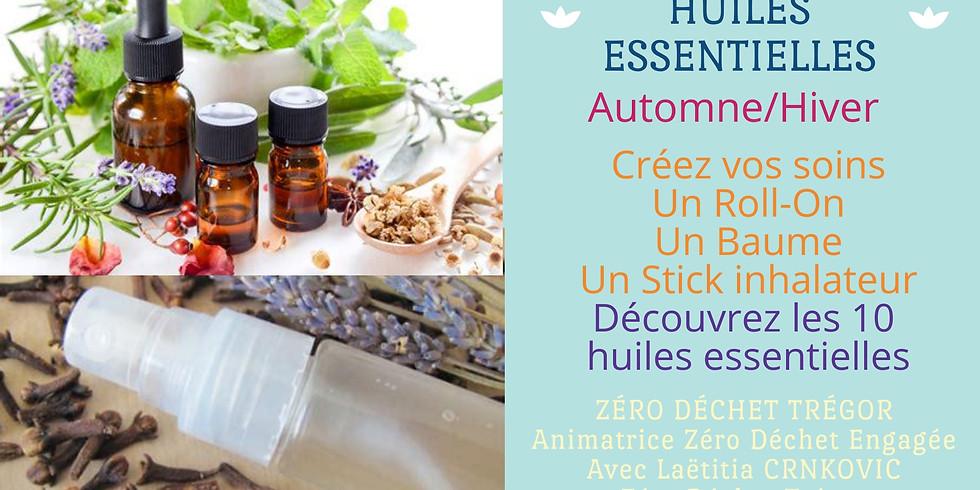 Huiles Essentielles Automne/Hiver : Roll-On, Baume, Inhalateur