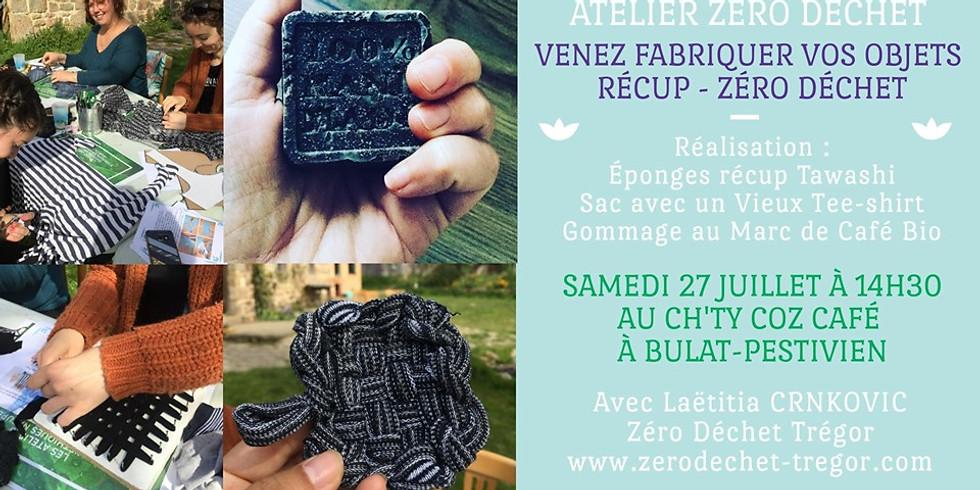 Initiation Zéro Déchet : éponge, sac et gommage