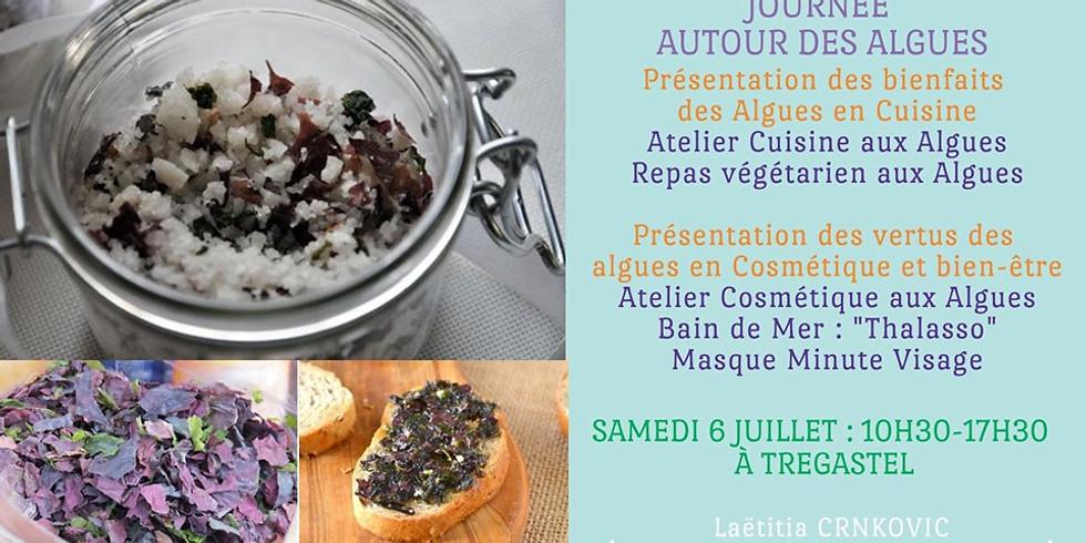 Journée autour des algues : Cosmétiques et Cuisine aux Algues