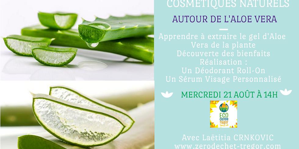Autour de l'Aloe Vera : Extraction du gel, Déodorant et Sérum Visage