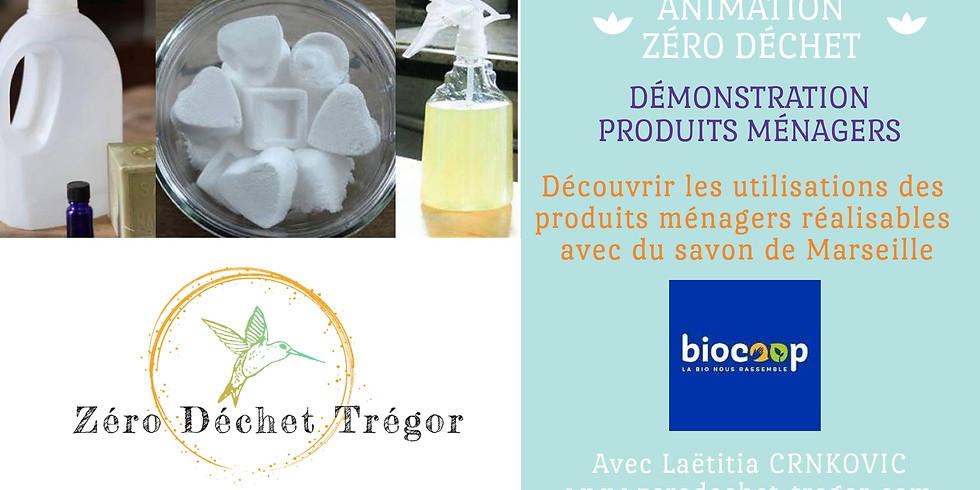 Les produits ménagers réalisables avec du Savon de Marseille