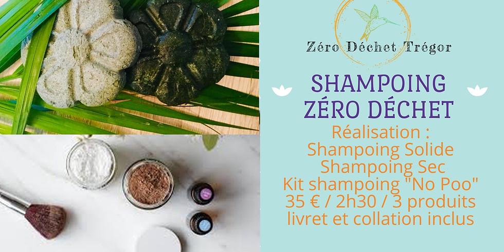 Shampoing Solide & Shampoing Sec : SALLE De BAIN ZÉRO Déchet