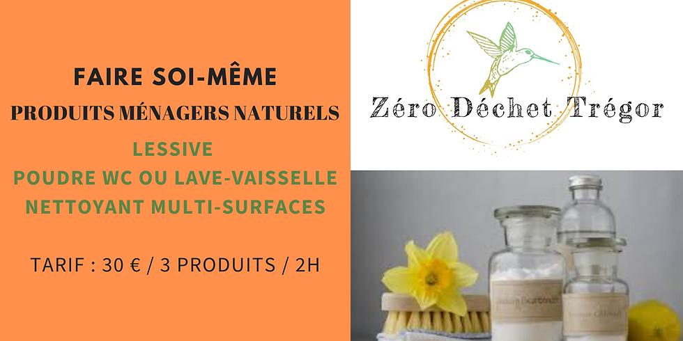 Produits Ménagers : Lessive, Nettoyant multisurfaces, Poudres