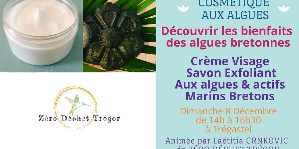 Crème Visage & Savon Exfoliant aux Algues et actifs Marins