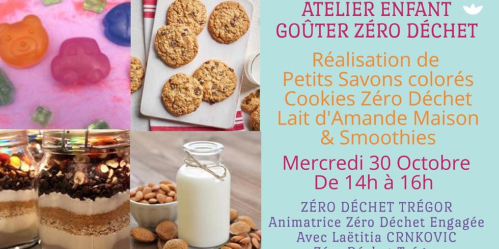 Goûter Zéro Déchet - Petits Savons, Cookies ZD et Lait d'Amande