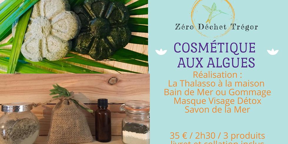 Cosmétique aux Algues : Thalasso, Masque Visage, Savon de la Mer