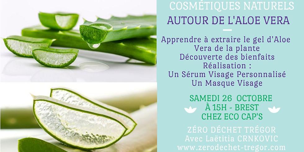 Aloé Vera : Extraction Gel d'Aloe, Masque Visage & Sérum Visage