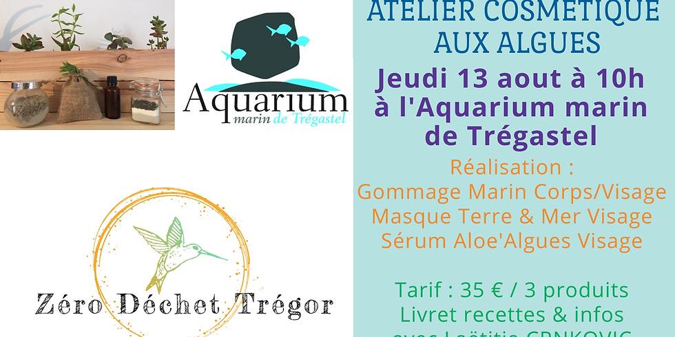 Cosmétique aux algues : Gommage, Masque & Sérum Visage
