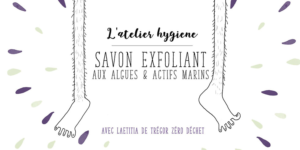 Atelier hygiène : #SavonExfoliantMarin