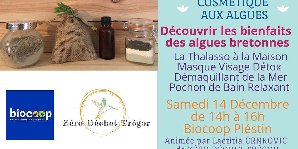 Cosmétique aux Algues : Thalasso, Masque Visage et Démaquillant