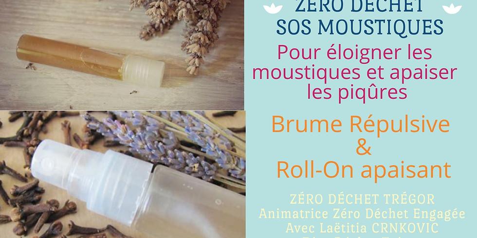 SOS Moustiques : Brume Répulsive & Roll-on apaisant (piqûres)