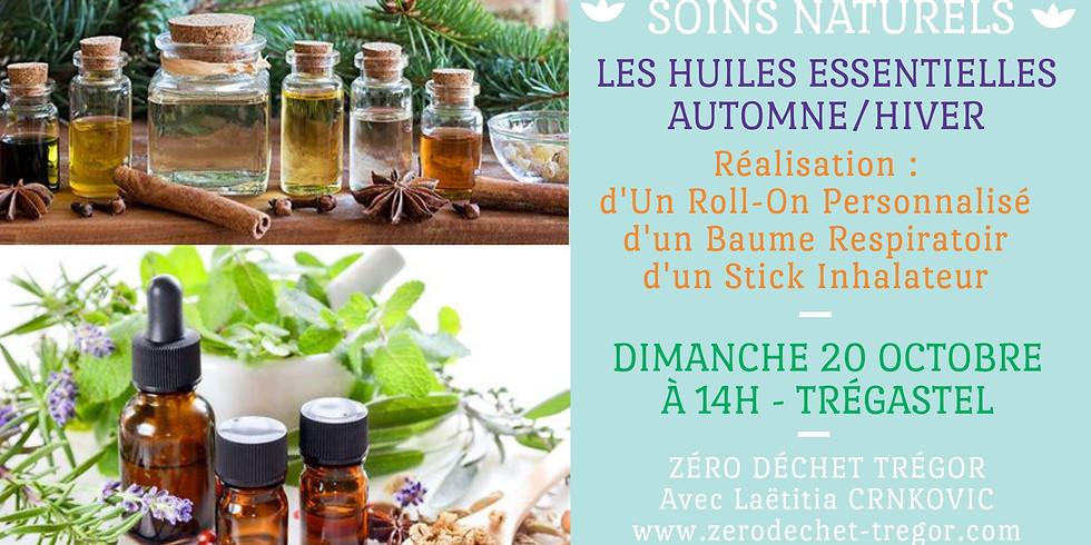 Huiles essentielles Automne/Hiver : Roll-On, Baume et Stick
