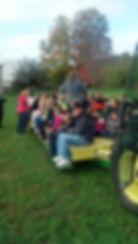 field trip on wagon