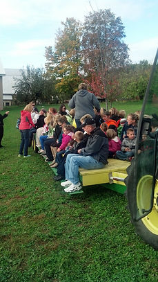 field trip on wagon