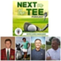 Next on the Tee, Bill Bergin, Gail Graham, Tom Patri, Terry Koehler