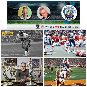 Thursday Night Tailgate, J.T. Thomas, Tony Collins, Ross Greenburg, Don Beebe