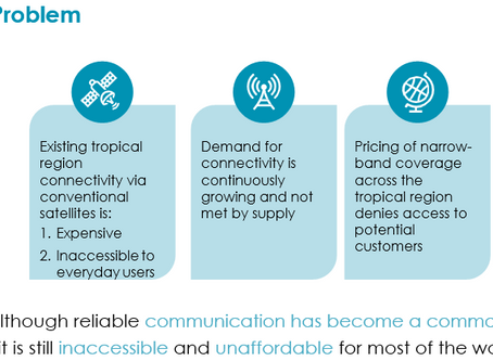 Disruptive NewSpace Affordable Communication via innovative nano-satellites