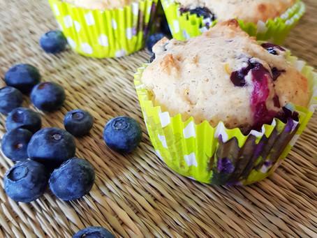 Recette vidéo: Muffins légers à la myrtille