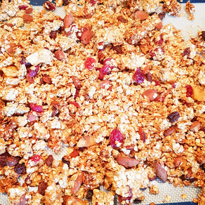 Granola croustillant maison