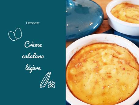 Crème catalane légère à la vanille