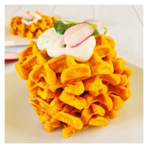 Gaufres de patate douce