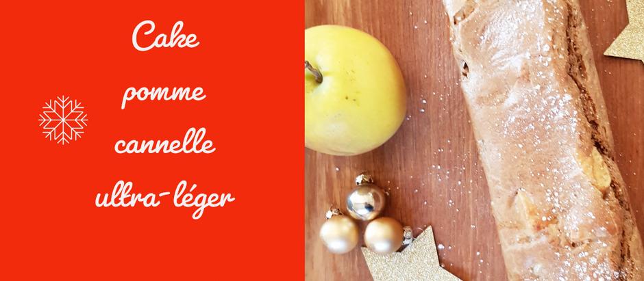 Cake pomme-cannelle sans sucre