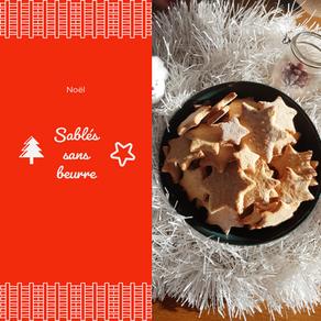 Sablés de Noël sans beurre