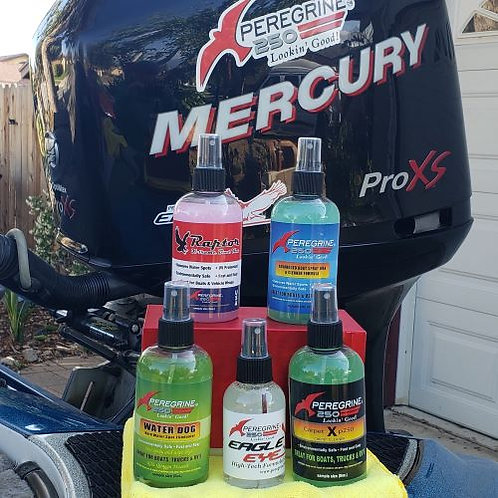 Peregrine 250 Boat Care Products Trial Kit