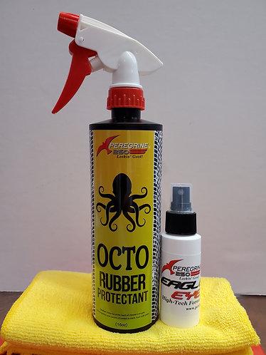 OCTO kit includes 16oz OCTO, 2 oz Eagle eye and Microfiber cloth