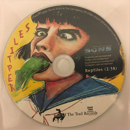 Reptiles limited edition promo cd