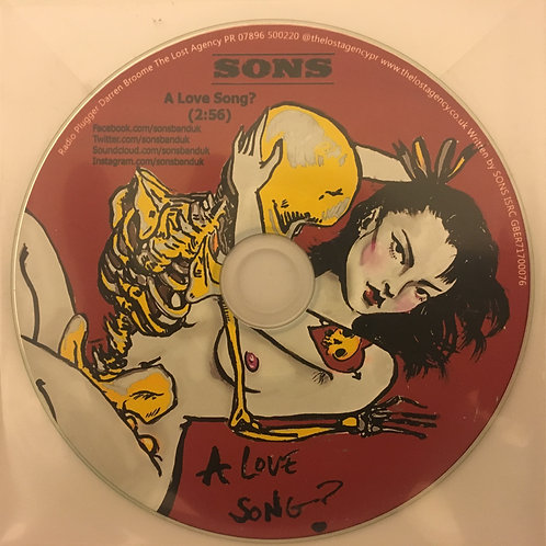 A Love Song? limited edition promo cd