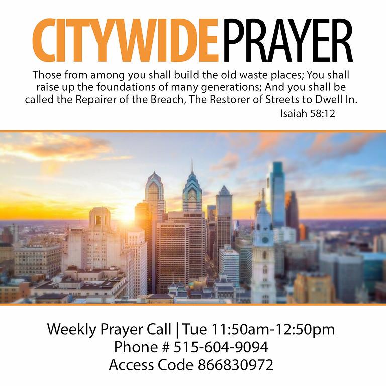 Citywide Prayer | Philadelphia Tabernacle of Prayer