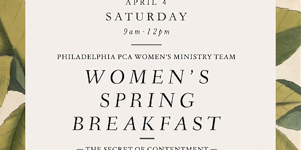 Women's Spring Breakfast