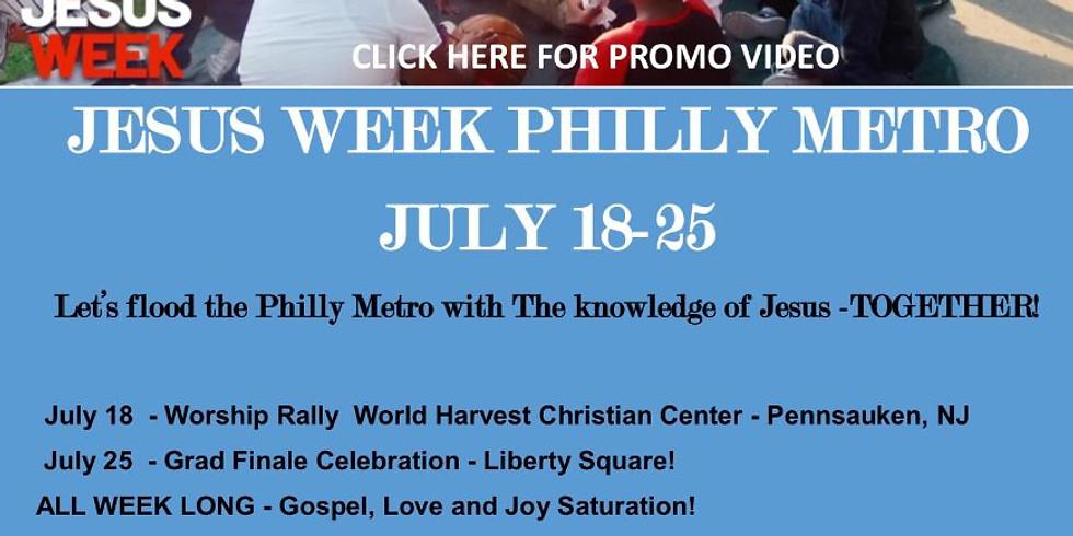 Jesus Week   Philly Metro
