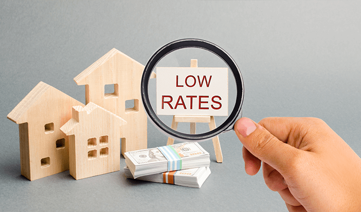 4 Reasons to Make a Larger Down Payment on Your Home Low Interest Rates Image