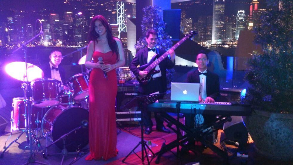 LIZA MELFI JAZZ SINGER HONG KONG