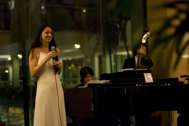 LIZA MELFI SINGER SINGAPORE