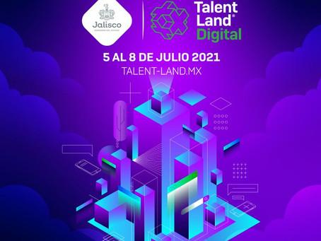 Jalisco invertirá 16 millones de pesos en Talent Land Digital 2021