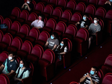 Cayo 70,4 % la asistencia a los cines europeos en 2020