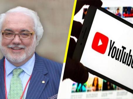 """El  empresario español Carlos Vasallo demanda a YouTube para que """"no se quede con todo"""""""