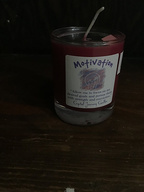 Motivation votive candle